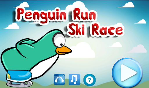 Penguin Run Ski Race