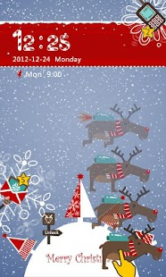 S-Xmas Moose GO Locker Theme - screenshot thumbnail