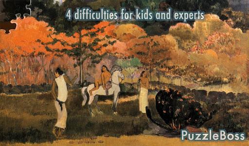 Gauguin: Famous Artist Jigsaws
