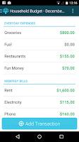 Screenshot of You Need A Budget (YNAB)