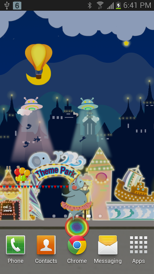 My Little Wonderland LWP Full - screenshot