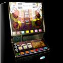 Slot machine club retro icon