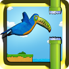 Happy bird gratis icon