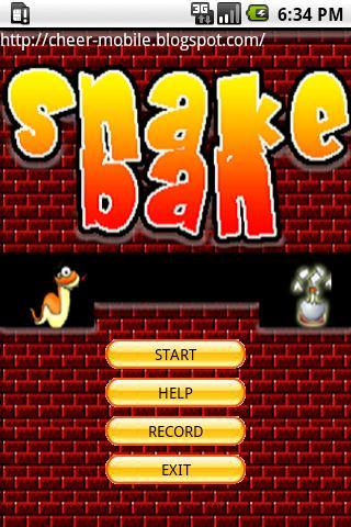 Snakeban v5 - screenshot