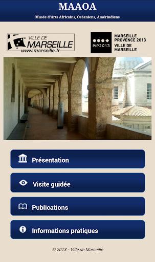 免費娛樂App MAAOA - Musées de Marseille 阿達玩APP