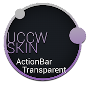 ActionBar Transparent