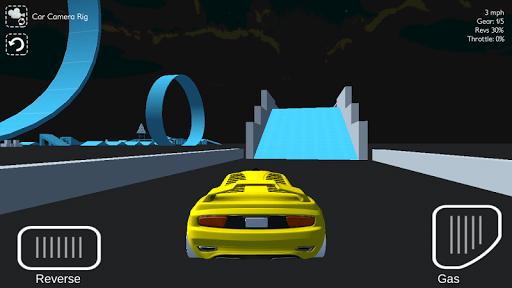 3D Car Simulator Game