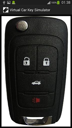 Virtual Car Key Simulator