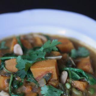 Vegetarian African Peanut Stew.