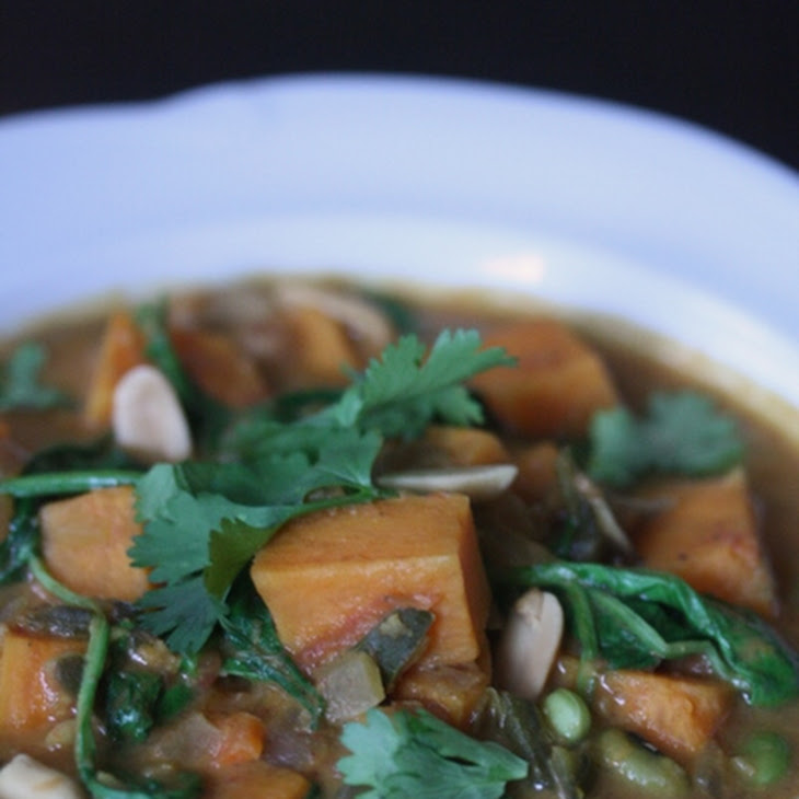 Vegetarian African Peanut Stew Recipe