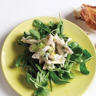 Chicken Salad with Scallions and Yogurt