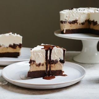 Chocolate Coffee Ice Cream Cake