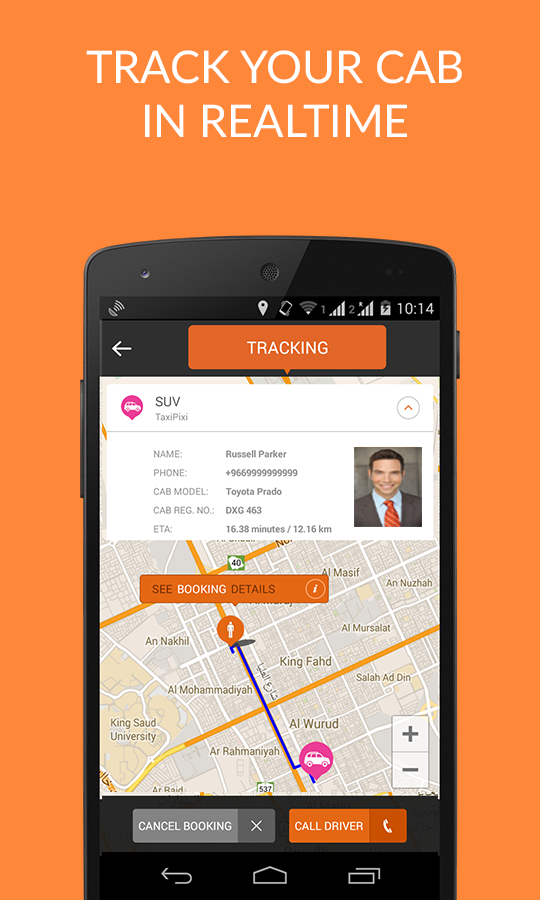 Taxi Booking App Book Taxi Cab - screenshot