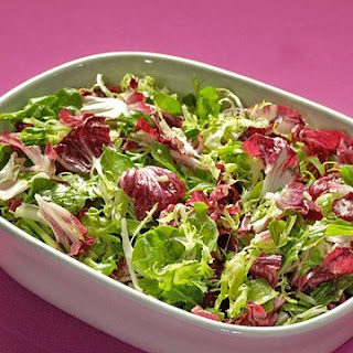 Mixed Green Salad with Citrus Dressing.