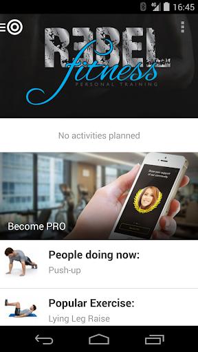 Rebel Fitness In-home online