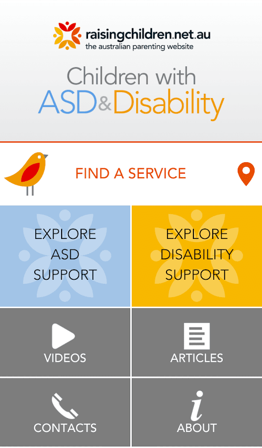 Autism & Disability- screenshot