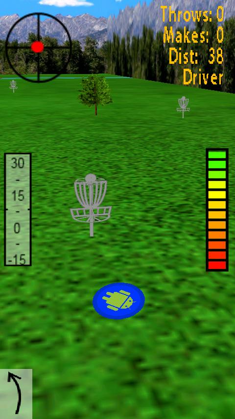 Droid Disc Golf Lite - screenshot