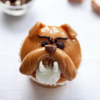 Bulldog Cupcakes.