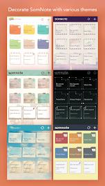 SomNote - Beautiful note app Screenshot 10