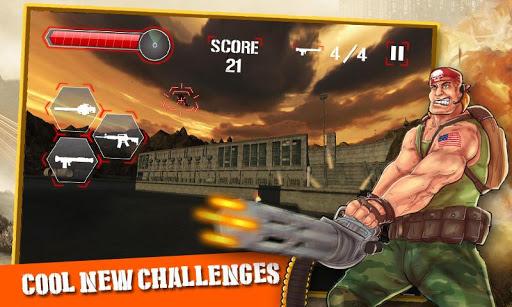 黑衣人槍射擊遊戲 3D