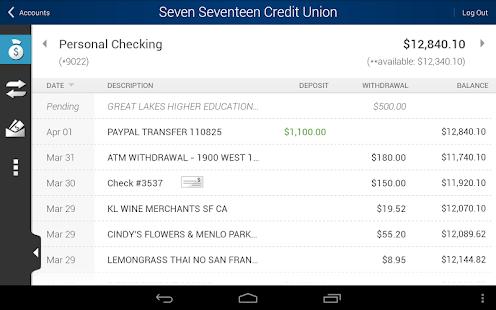 Seven Seventeen Credit Union - screenshot thumbnail