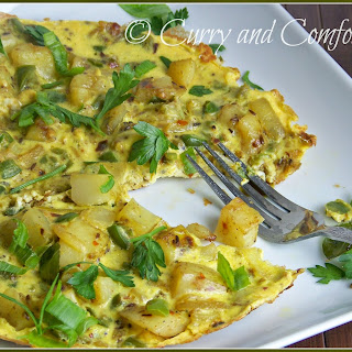 Spicy Masala Omelet.