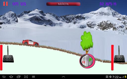 Jumping Car Race 2D