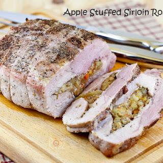 Apple Stuffed Sirloin Roast