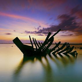Crash by I Komang Windu - Landscapes Beaches ( canon, bali, tuban, sunrise, travel photography, photography )