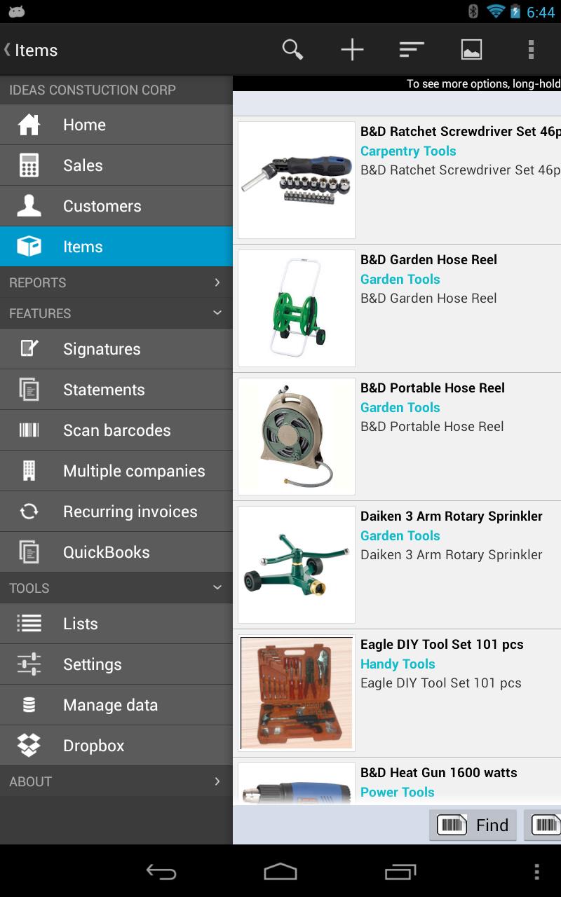 MobileBiz Pro - Invoice App Screenshot 9