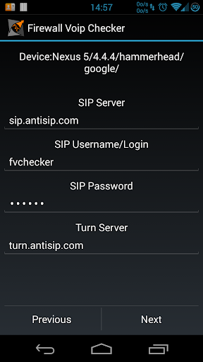 SIP Voip Checker