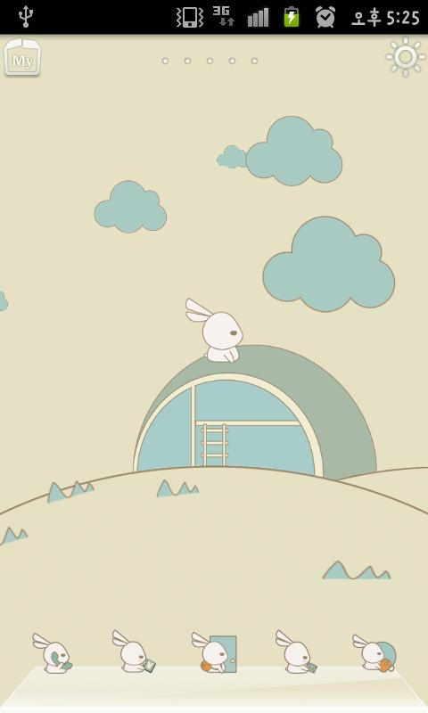 Rabbit Launcher White Rabbit - screenshot