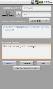 Encrypted Messages - screenshot thumbnail