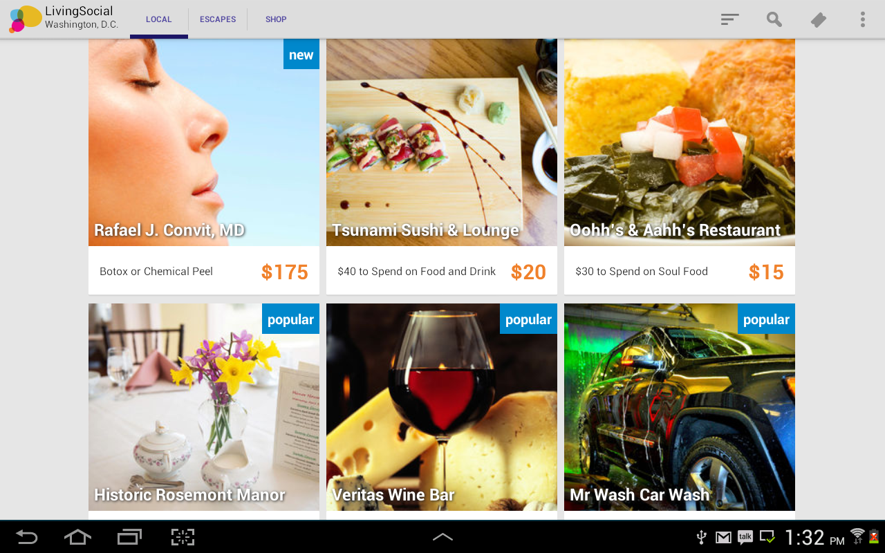 LivingSocial - screenshot