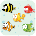 Feeding frenzy - Fish icon