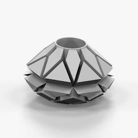 Parametric Polygon Vase - 3D Print Art