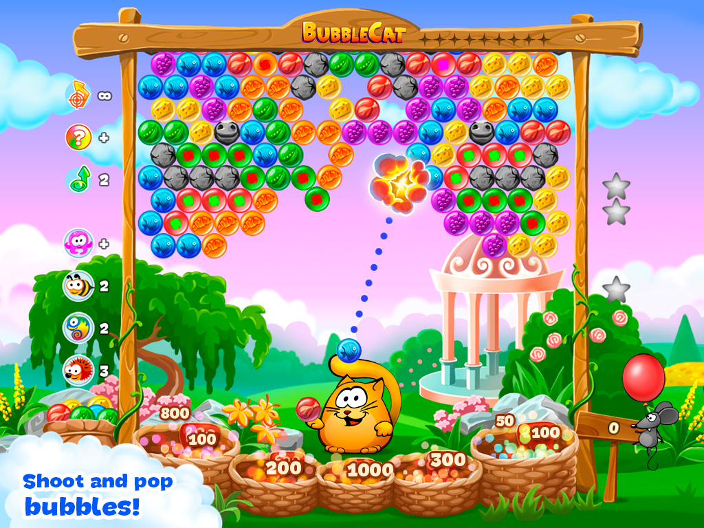 Bubble Cat Adventures - screenshot