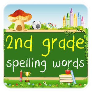 Second grade spelling words