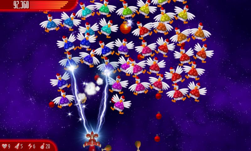 Chicken Invaders 4 Xmas- screenshot