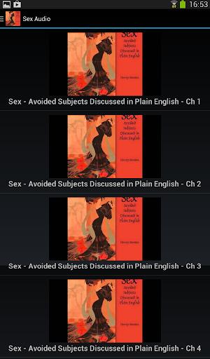 Sex - Audiobook