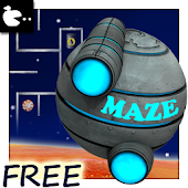 Maze game on time - space ship