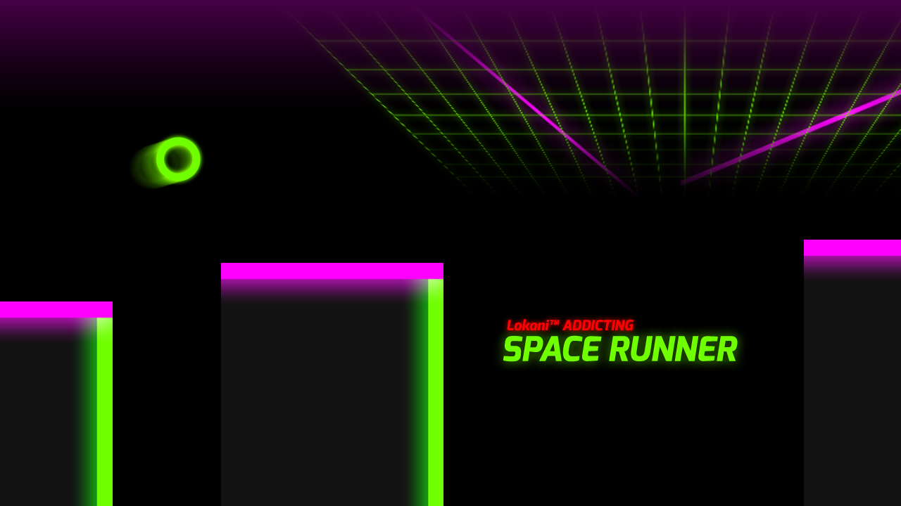 Lokani™ Addicting Space Runner - screenshot