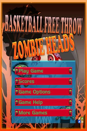 Basketball Free Throw: Zombie