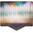 Zooper White Neon icon