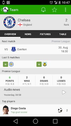 android Fußball Ergebnisse - FotMob Screenshot 6