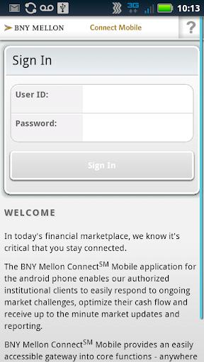 BNY Mellon Connect Mobile