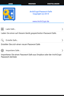 Passwort Safe- screenshot thumbnail