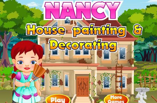南希的新房子改造油漆