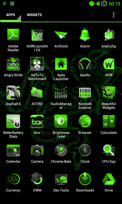 PoisonGreen NG for CM9/CM10- screenshot