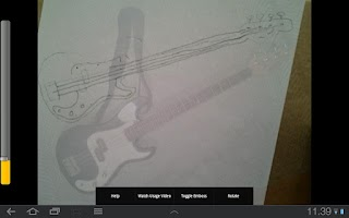 Screenshot of Artist's Eye
